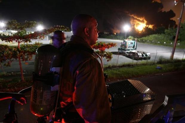 Puerto Rico Explosion