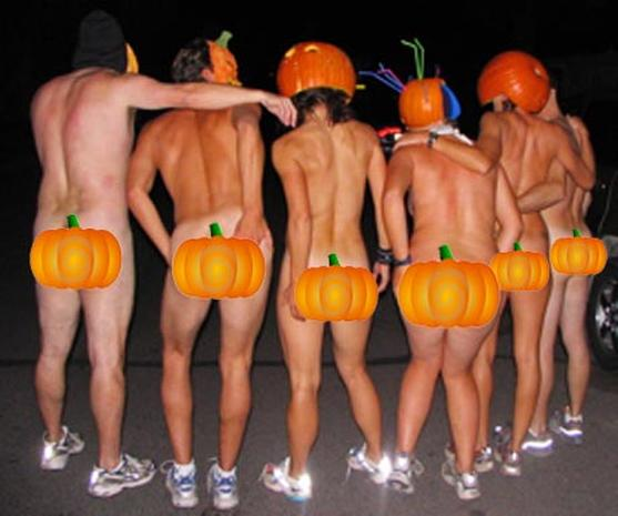Naked Pumpkin Run