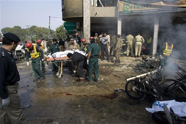 Bank Suicide Bombing