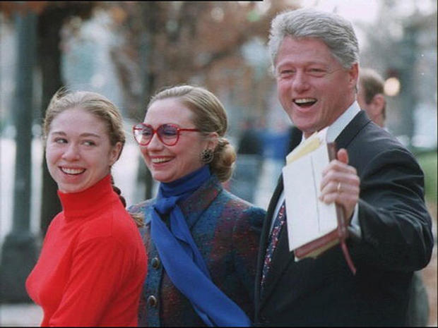 Chelsea Clinton through the years