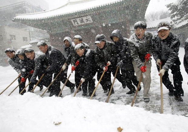 Record Snow in Asia
