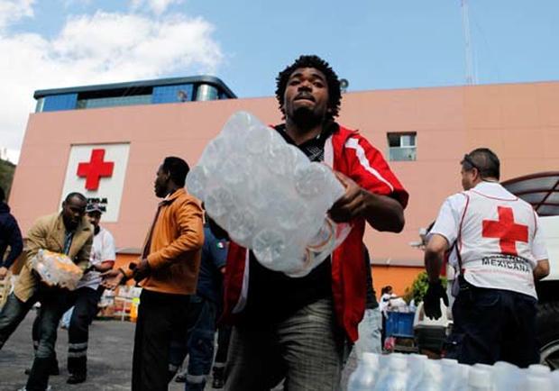Relief, Aid Enter Haiti