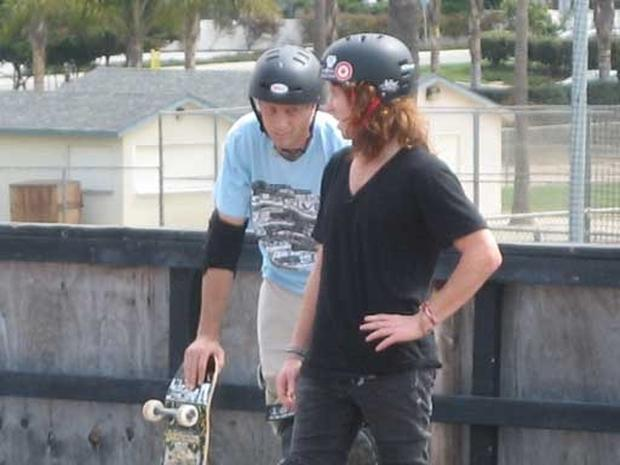 Hangin' with Shaun White