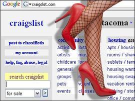 Craigslist Sex Ad