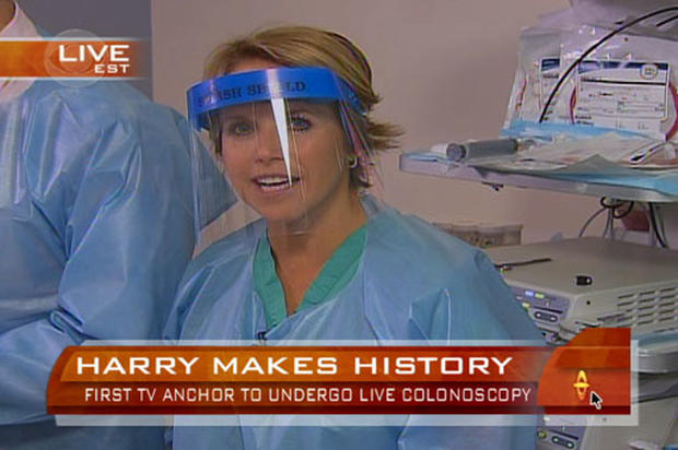 What was so special about Katie Couric's colonoscopy?