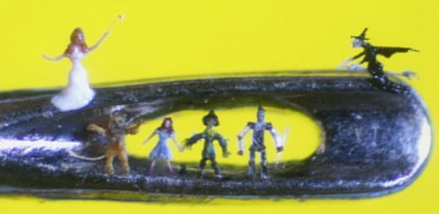 Willard Wigan's Micro Art