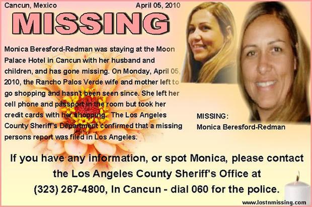 Monica Beresford-Redman Found Dead