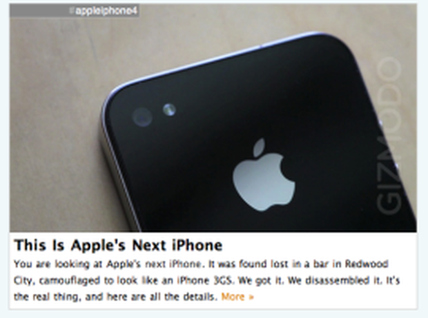 Gizmodo and iPhone 4G