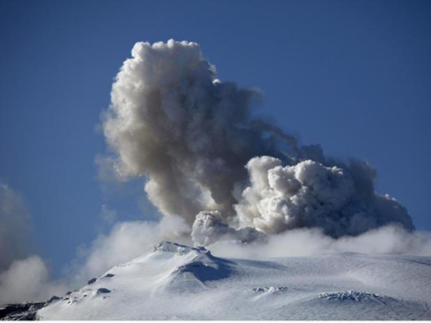 Volcano in Iceland