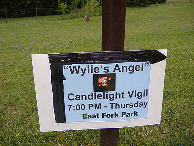 Hundreds Gather at Vigil for Wylie's Angel