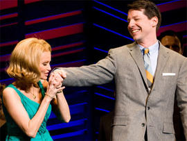 Kristin Chenoweth and Sean Hayes