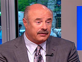Dr. Phil McGraw on The Early Show.