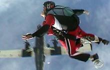 Skydiving Hero Saves Woman