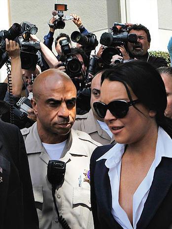 Lindsay Lohan In Court