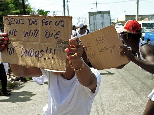 Kingston Jamaica State of Emergency
