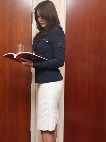 Debrahlee Lorenzana: Too Sexy for Bank?