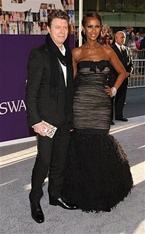 David Bowie and Iman's love story