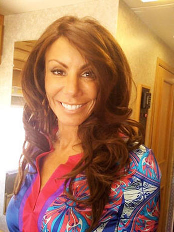 """""""Real Housewife"""" Danielle Staub Sex Tape Scandal"""
