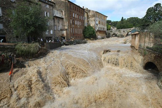Fatal Floods in France