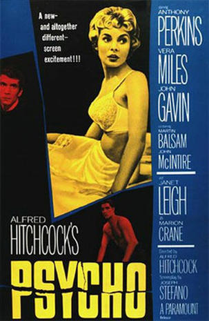 "Hitchcock's ""Psycho"" turns 50"