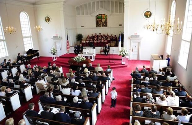 Robert Byrd's Memorial Service