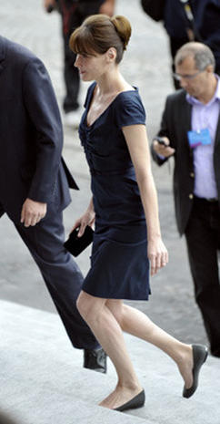 Carla Bruni's Stylish Bastille Day - Photo 1
