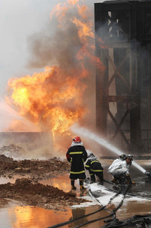 Pipeline Explosion in China