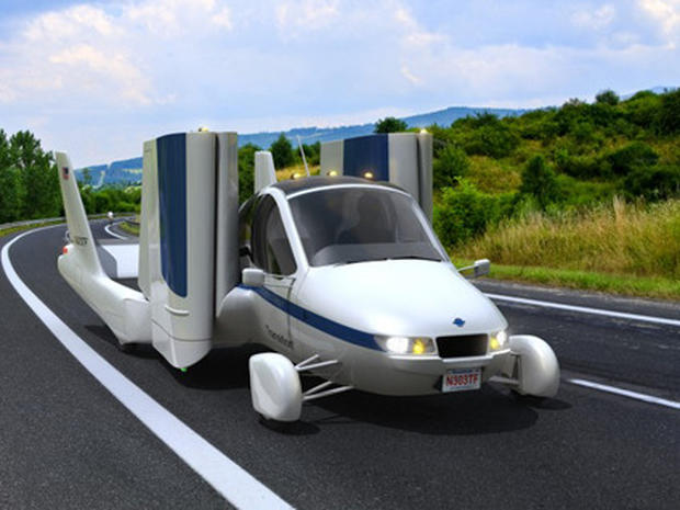 One Step Closer for Terrafugia Flying Car