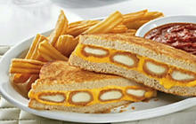 Denny's Gut-Busting Fried Cheese Melt