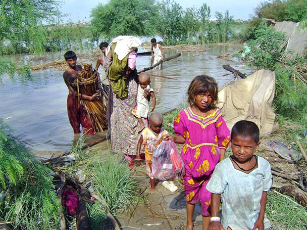 Pakistan's Child Flood Victims