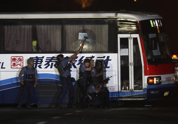 Philippines Bus Hijacking