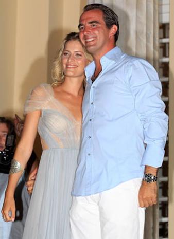 Royal Wedding Preparations in Greece