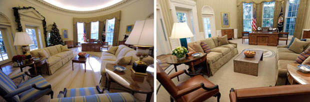 The New Oval Office