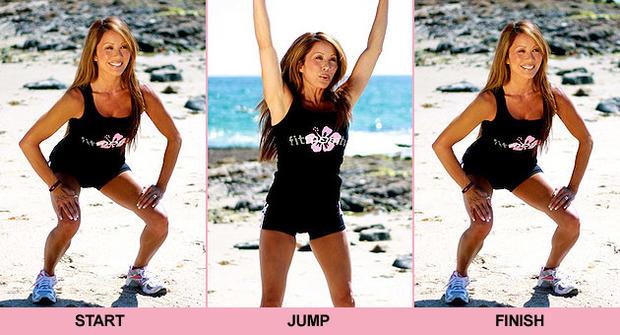 Kiana Tom, workout, exercise, beach