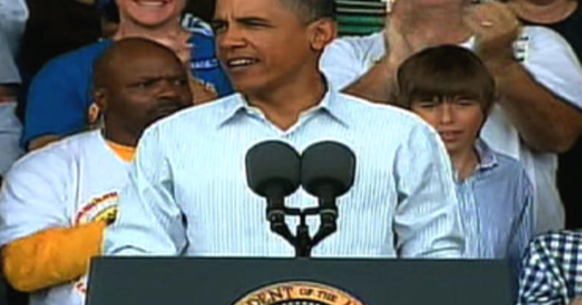 """Obama: Americans Don't Believe """"No, We Can't"""""""