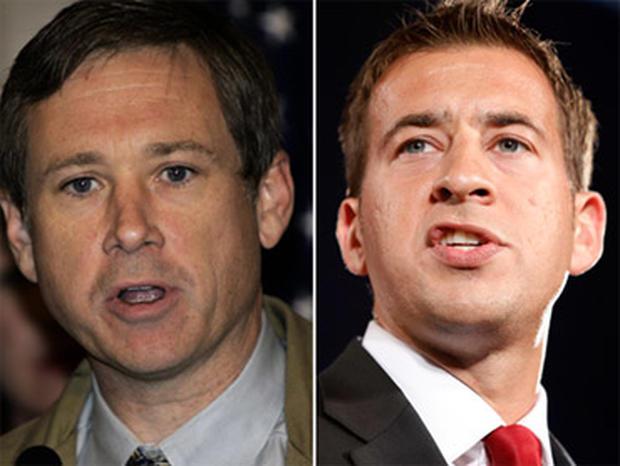US Representative of Illinois and senatorial candidate Mark Kirk left, and U.S. Senate Candidate Alexi Giannoulias