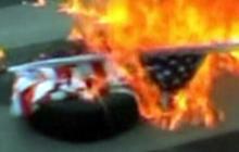 Quran Burning Spurs U.S. Flag Burning