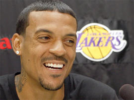 Matt Barnes Arrested: Newly Signed LA Laker Charged with Domestic Violence