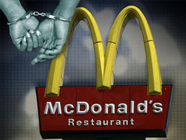 Two Arrested After Wrestling Python Outside McDonald's Parking Lot, Say Cops