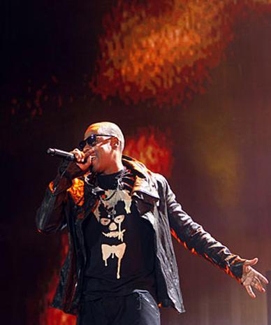 Jay-Z  & Eminem at Yankee Stadium