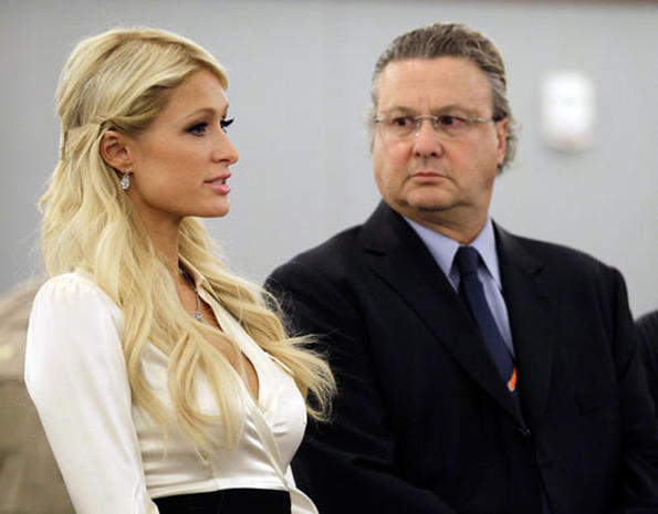 Paris Hilton in Court