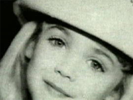 JonBenet Ranmsey, in photo provided by her family