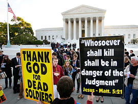 Westboro Baptist Church: Supreme Court to Decide Suit Filed by Father of Fallen Soldier
