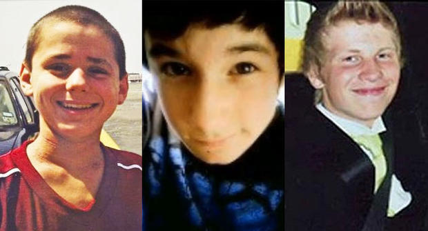 Gay teens Asher Brown, 13, Seth Walsh, 13, and Justin Aaberg all committed suicide in 2010 in the face of alleged anti-gay bullying.