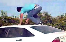 "Deadly Teen Trend: ""Car Surfing"""