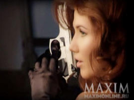 Anna Chapman Maxim Photos: Sexy Spy Poses for Russian Version of Magazine