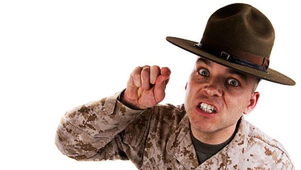 drill sergeant, generic, istockphoto
