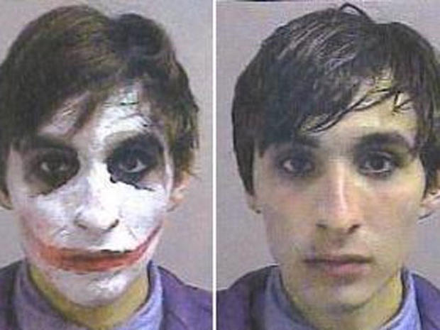 Outrageous mugshots