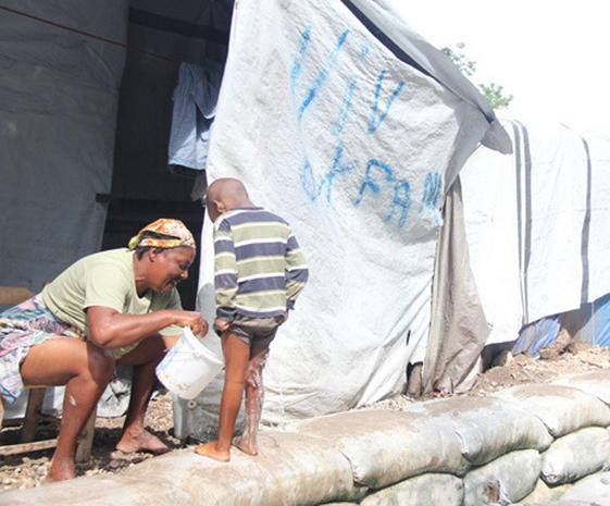 Haiti Dodges a Bullet