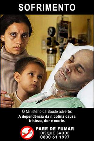 Terrifying Cigarette Labels from Brazil